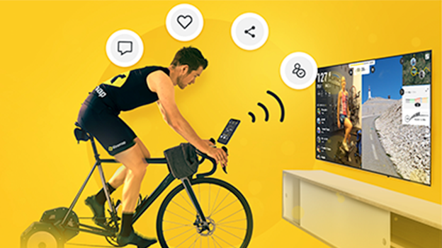 Virtual cycling challenge image image