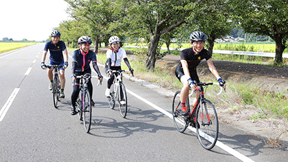 We go round famous places of Ibaraki! Ride tour image image for beginners